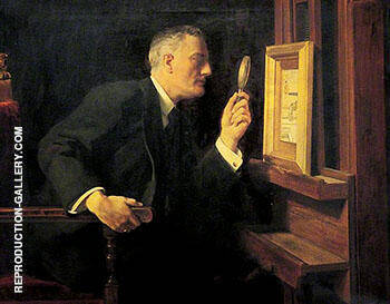 The Connoisseur Reginald Barrett By John Maler Collier