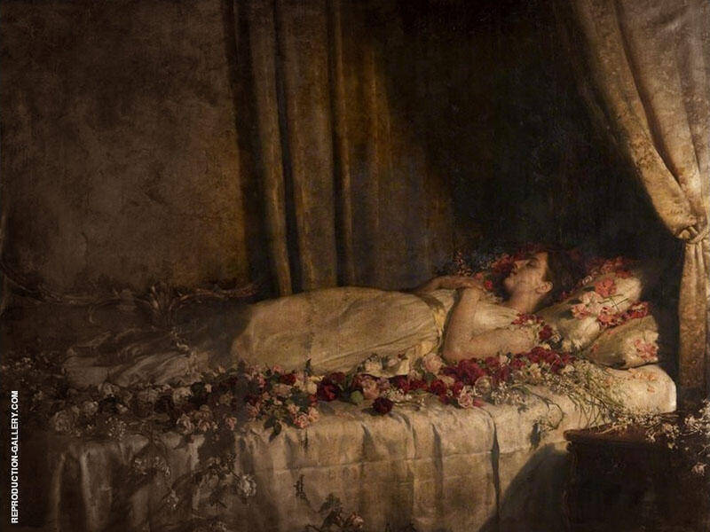 The Death of Albine By John Maler Collier