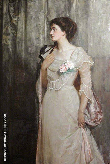 The Honourable Florence Rachel Hamilton Russell 1901 By John Maler Collier Replica Paintings on Canvas - Reproduction Gallery