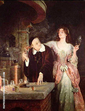 The Laboratory 1895 By John Maler Collier