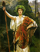 The Priestess of Bacchus By John Maler Collier