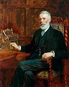 The Right Honourable Samuel Cunliffe Lister 1815-1906, Baron Masham of Swinton 1901 By John Maler Collier