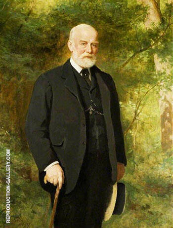 The Right Honourable T F Halsey 1907 Painting By John Maler Collier