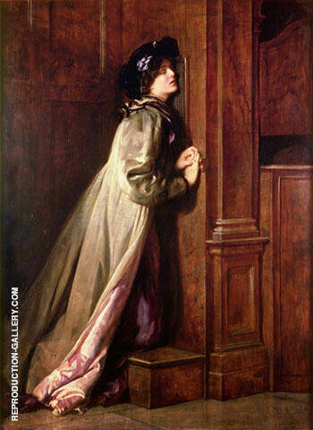 Reproduction of The Sinner 1904 by John Maler Collier | Oil Painting Replica On CanvasReproduction Gallery