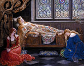 The Sleeping Beauty 1921 By John Maler Collier