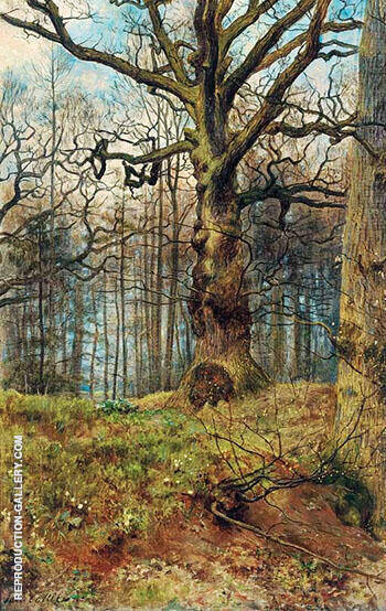 The Spring Wood By John Maler Collier - Oil Paintings & Art Reproductions - Reproduction Gallery