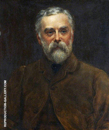 Reproduction of William Fred Collier by John Maler Collier | Oil Painting Replica On CanvasReproduction Gallery