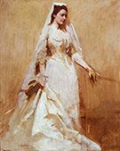 A Bride 1895 By Abbott H Thayer