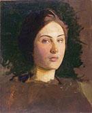 Alma Vollerman c 1903 By Abbott H Thayer