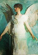 An Angel 1893 By Abbott H Thayer