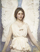 Angel 1887 By Abbott H Thayer