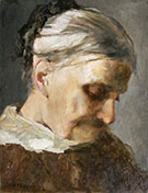A Study of an Old Woman 1890 By Abbott H Thayer