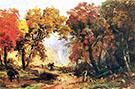 Autumn Landscape 1866 By Abbott H Thayer