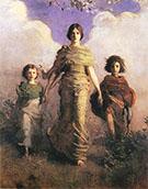 A Virgin 1892-93 By Abbott H Thayer