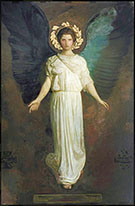 A Winged Figure 1904 By Abbott H Thayer