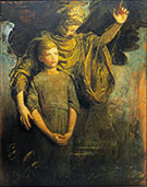 Boy and Angel By Abbott H Thayer
