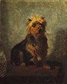 Chadwick's Dog 1874 By Abbott H Thayer