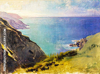 Cornish Headlands 1898 By Abbott H Thayer