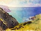 Cornish Headlands 1898 By Abbott H Thayer