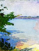 Dublin Pond New Hampshire 1894 By Abbott H Thayer