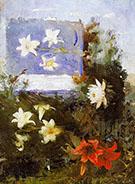 Flower Studies 1886 By Abbott H Thayer