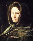 Girl in Fur Hood 1908 By Abbott H Thayer