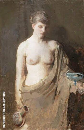 Hebe 1890 By Abbott H Thayer