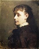 Jessie Jay Burge 1880 By Abbott H Thayer