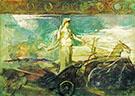 Minerva in a Chariot 1894 By Abbott H Thayer