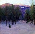 Monadnock in Winter 1904 By Abbott H Thayer