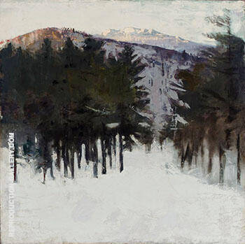 Monadnock No 2 1912 By Abbott H Thayer Replica Paintings on Canvas - Reproduction Gallery