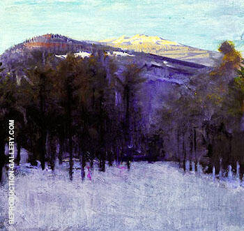 Mount Monadnock 1911-14 By Abbott H Thayer - Oil Paintings & Art Reproductions - Reproduction Gallery