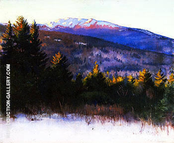 Reproduction of Mount Monadnock 1915-19 by Abbott H Thayer | Oil Painting Replica On CanvasReproduction Gallery