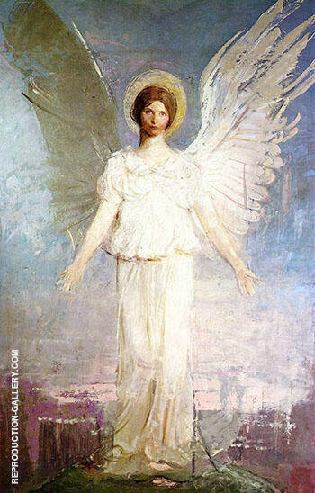 Noon 1920-21 By Abbott H Thayer Replica Paintings on Canvas - Reproduction Gallery