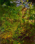 Peacock in the Woods 1907 By Abbott H Thayer