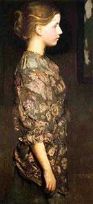 Portrait of Alice Rich 1917 By Abbott H Thayer