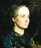 Portrait of a Woman Miss Gertrude Bloede 1881 By Abbott H Thayer