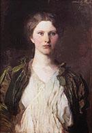 Portrait of Bessie Price 1897 By Abbott H Thayer