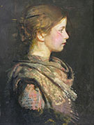 Profile Alice Rich 1917 By Abbott H Thayer