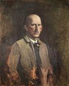 Self Portrait 1918 By Abbott H Thayer