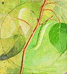 Sphinx Caterpillar1 By Abbott H Thayer