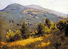 Spring Hillside 1889 By Abbott H Thayer