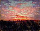 Sunset 1905-09 By Abbott H Thayer