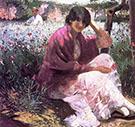 The Garden 1884 By Abbott H Thayer
