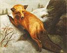 The Red Fox 1870 By Abbott H Thayer
