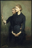The Sisters 1884 By Abbott H Thayer
