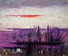The Sky Simulated by White Flamingoes 1905-09 By Abbott H Thayer