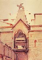 Tomb of Verona By Abbott H Thayer