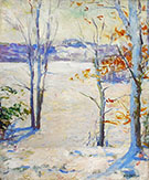 View to Monadnock By Abbott H Thayer