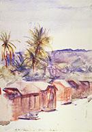 Village Street Dominica By Abbott H Thayer